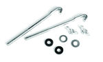 Ford Parts -  Battery Hold Down Clamp Kit - Includes 2 Each - Nuts, Rubber Washers, Metal Washers & Bolts