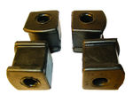 Ford Parts -  Stabilizer Bar Bushing Repair Kit - Stabilizer To Frame Bushings - 4 Pc. Kit (Exc. Station Wagon, Sedan Delivery, Retractable & Ranchero).