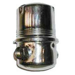 Ford Parts -  Fuel Filter Canister - Chrome Plated For All FE Block Engines