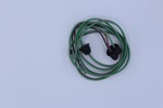 "Ford Parts -  Headlight Wire Harness - Right Hand - Flat Pvc Wire Full Ground W/ Grommet - 102"" - Fits All Models"