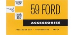 Ford Parts -  Accessory Installation Manuals Ford Full Size, Thunderbird & Truck Accessory Brochure