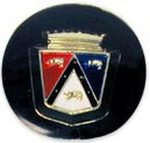 Ford Parts -  Exterior Rear View Mirror Crest - Exact Reproduction Emblem For 61FAB17696A Mirror (2 Required) Galaxie