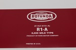 "Ford Parts -  Oil Filter Decal ""Rotunda"""
