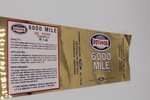 "Ford Parts -  Oil Filter Decal  ""Rotunda 6000 Mile"" R 1-A"