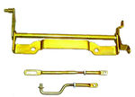 Ford Parts -  Carburetor Linkage Kit - Medium-Rise Dual Quad - 427