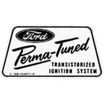 Ford Parts -  Ignition Transistorized Heat Shield Module Decal