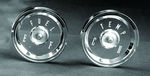 Ford Parts -  Fuel / Temp Lens W/ Chrome Bezel Kit