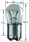 Ford Parts -  Bulbs - 12v Double Contact #1004