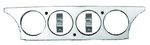 Ford Parts -  Instrument Gauge Insert - Billet Aluminum Dash Inset Galaxie