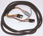 Ford Parts -  Electric Window Harness Left Hand Rear - Galaxie 2 & 4 Door, H/T, F/B, Convertible W/ Console - 77""