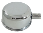Ford Parts -  Oil Filler/ Breather Cap With Tube, Chrome