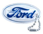 "Ford Parts -  Key Ring - Plastic ""Ford"" Key Chain"