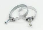 "Ford Parts -  Radiator Hose Clamp - Original Style Tower 2-9/32"" To 2-1/2"" - Correct For 1961-1968"