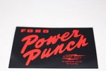 Ford Parts -  Battery Decal Ford Power Punch