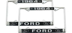 "Chevrolet Parts -  License Plate Frame - Year On Top - ""FORD"" On Bottom"