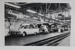 "Ford Parts -  Photo - Retractable Hardtop Assembly Line - 12"" X 18"""