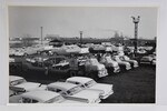 "Ford Parts -  Photo - New '57 Fords Loaded On Car Carriers - 12"" X 18"""