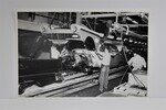 "Ford Parts -  Photo - Assembly Line - Front End To Chassis - 12"" X 18"""