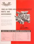 Ford Parts -  Sales Literature Ford 427 High Performance Parts & Accessories Manual