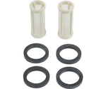 Ford Parts -  Universal Inline Fuel Filter Element - Includes Two Filter Elements And Four Rubber Seals